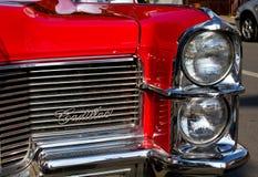 Red Cadillac Stock Photo