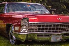 Red Cadillac - 1965 Stock Photos