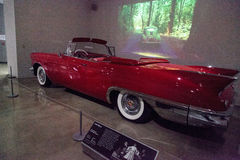 Red 1957 Cadillac ElDorado Biarritz Stock Images