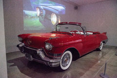 Red 1957 Cadillac ElDorado Biarritz Royalty Free Stock Images
