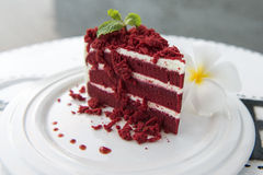 Red cake Royalty Free Stock Images