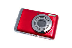 Red camera Stock Photography