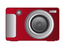 Red camera Royalty Free Stock Photo