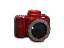 Red camera Stock Photo