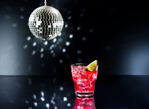 Red Campari Cocktail Royalty Free Stock Image
