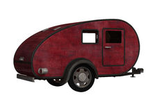 Red Camper Royalty Free Stock Photos