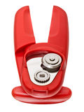Red can opener Royalty Free Stock Images