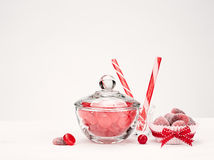 Red Candies Royalty Free Stock Images