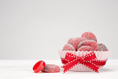 Red Candies Stock Photography