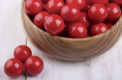 Red candies Royalty Free Stock Photo