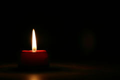 Red Candle #2 Royalty Free Stock Photography