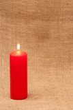 Red Candle Royalty Free Stock Images