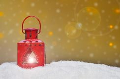 Different Christmas ornaments Stock Image