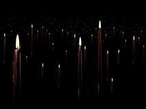 Red candle background Royalty Free Stock Images