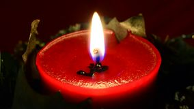 Red Candle stock video footage