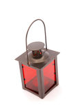 Red candle lantern Stock Image