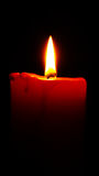 Red Candlelight Royalty Free Stock Photos