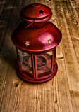 Red candlestick Stock Photo