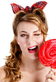 Red candy Royalty Free Stock Image
