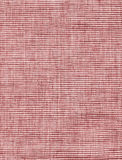 Red canvas. Image of detailed rough red fabric Royalty Free Stock Image