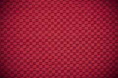 Red canvas background Stock Photography