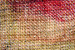 Red canvas background Stock Images