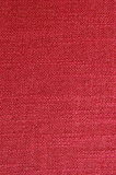 Red canvas textile Royalty Free Stock Photos
