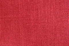 Red canvas textile Stock Photo