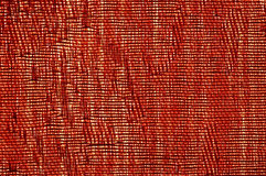 Red canvas texture stock images