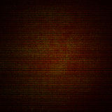 Red canvas texture abstract  background with vignette Stock Photo