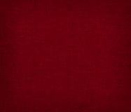 Red canvas texture background Royalty Free Stock Photos
