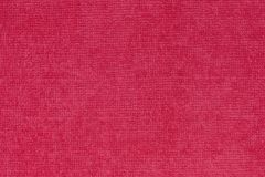 Red canvas texture Royalty Free Stock Images