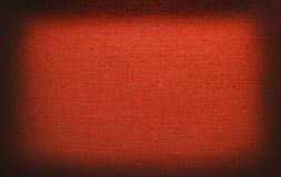 Red canvas texture Stock Photography