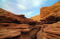 Red canyon Royalty Free Stock Photography