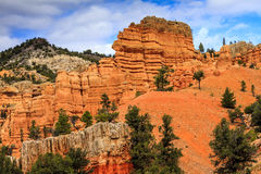 Red Canyon Area Utah Stock Photography