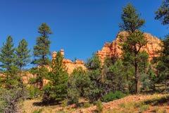 Red Canyon at Bryce Canyon national park, Utah stock photo