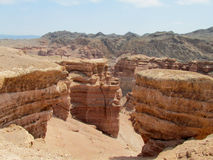 Red Canyon Charyn (Sharyn) National Park Royalty Free Stock Photo