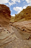 Red canyon Eilat. Middle East. Israel. Arava desert. Royalty Free Stock Photography
