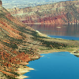 Red Canyon at Flaming Gorge National Recreation Ar Stock Photo