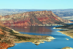 Red Canyon at Flaming Gorge National Recreation Area Royalty Free Stock Photos