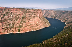 Red canyon, Flaming Gorge National recreation area, Utah Stock Photography