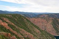 Vista of Red Canyon in Flaming Gorge, Utah Royalty Free Stock Image