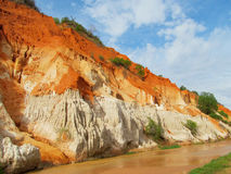Red Canyon In Muine, Vietnam