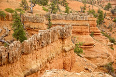 Red Canyon Rockscapes Royalty Free Stock Photos
