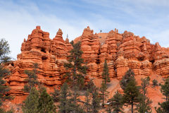 Red Canyon Utah Royalty Free Stock Photo
