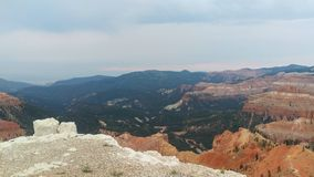 Cedar Breaks - National Monument. The red canyons of Cedar Breaks National Monument near Brian Head, Utah, USA stock image