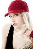 Red cap Stock Photo