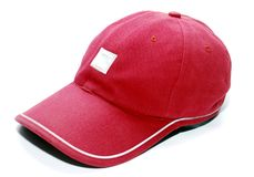 Red cap Royalty Free Stock Images
