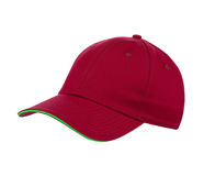 Red cap isolated Royalty Free Stock Image