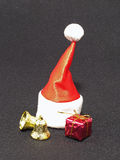 Red cap of Santa. Royalty Free Stock Images